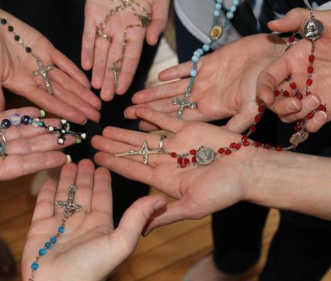 Sunday family rosary