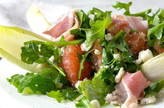 Arugula Grapefruit Salad