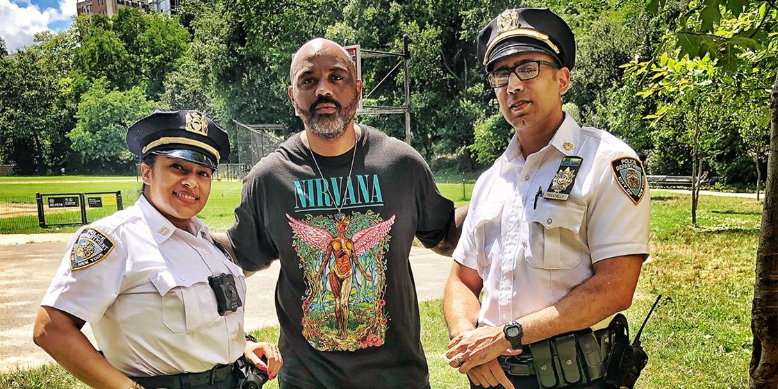 New York Police Join Forces with Harlem's Youth