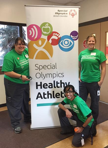 SOBC Healthy Athletes event Cranbrook