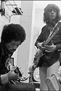 Still Blues: Jimi and Mick Behind The Scenes