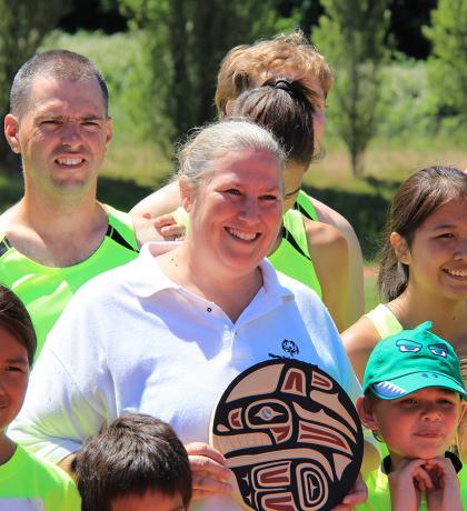 Award-winning Special Olympics coach Angela Behn