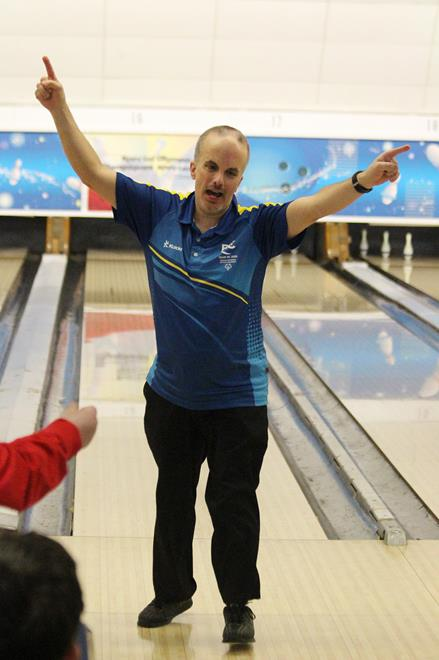 Special Olympics Team BC 2020 bowler Matthew Brewer