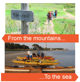 From the mountains to the sea Outward Bound course