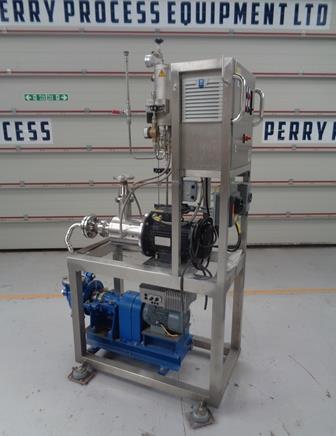 Used 8,000 Litre Art Prozess & Labortechnik Type MICCRApi-D-75 DFK-3 Stainless Steel Inline Homogeniser/Disperser