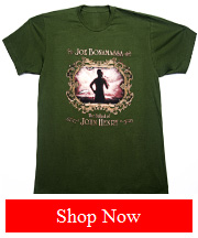 Joe Bonamassa 'The Ballad Of John Henry' Official tee green
