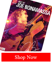 Handsigned Best of Joe Bonamassa Tab Book