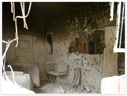 Bombs Destroying Civilian Communities in Gaza