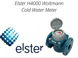 Elster H4000 Woltmann Cold Water Meter