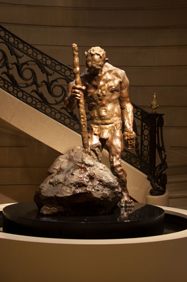 "Bruce Gagnier, ""Moses Striking the Rock,"" National Academy of Design"