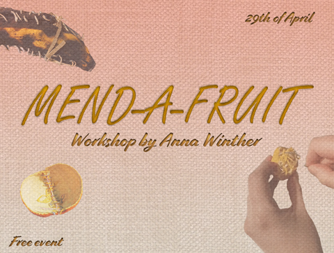 Graphic promoting mend-a-fruit