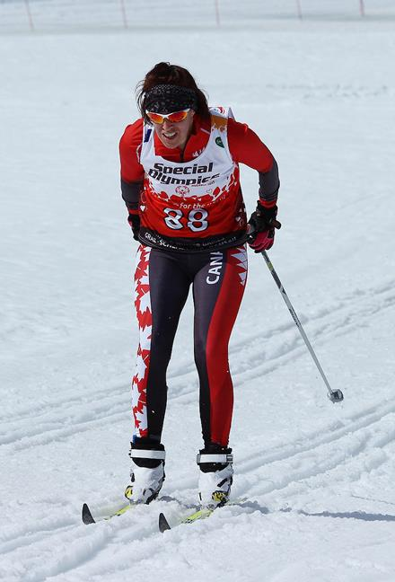 Team Canada member Tracey Melesko