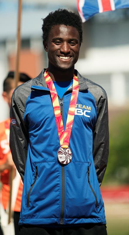 SOBC - Surrey athlete Malcolm Borsoi
