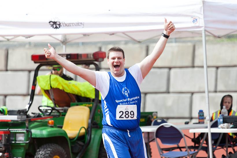 Special Olympics BC athlete George