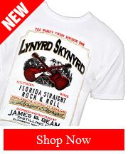 Tribut - NEW Lynyrd Skynyrd – JB Whiskey tee