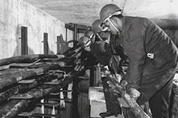 Engineers Working On Underground Cables Below Wood Street, London, 1967