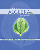 Beginning Algebra: A Guided Approach 10th edition