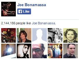 Joe Bonamassa on Facebook. 2,144,186 people like Joe Bonamassa. Yay!