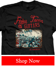 Joe Bonamassa Palm Trees & Guitars Tee