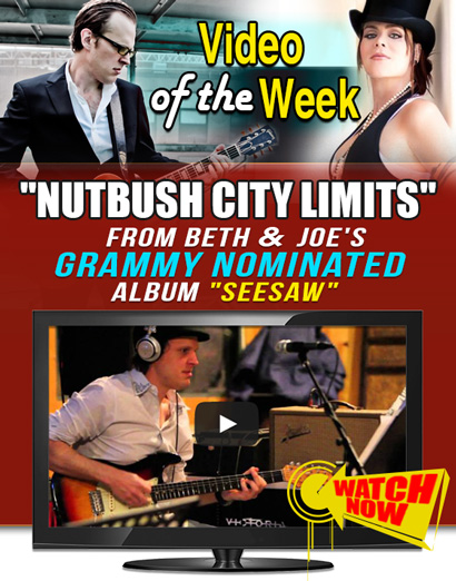 Joe Bonamassa Video of the Week. Beth Hart & Joe Bonamassa perform 'Nutbush City Limits' from the Grammy nominated album 'Seesaw'. Click here to watch it now!