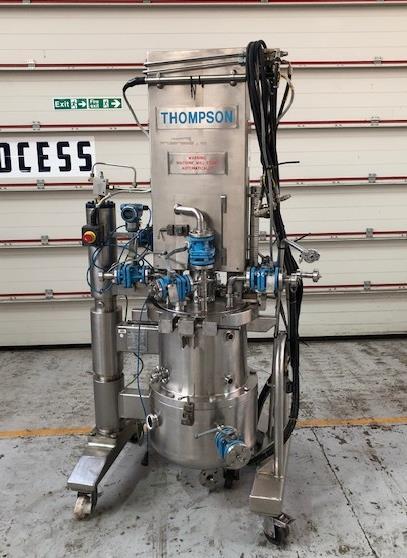 0,12 Sq. M. Charles Thompson Type CT400 Hastelloy C22 Mobiler Filtertrockner