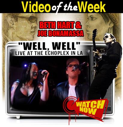 Joe Bonamassa Video of the Week. Beth Hart & Joe Bonamassa perform