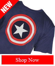 Tribut - NEW Captain America - 80s Captain tee