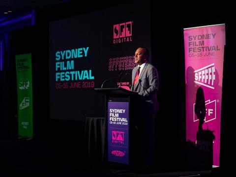 Sydney Film Festival Launch - Nashen Moodley