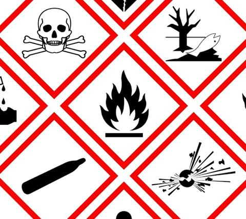 Image of GHS pictograms