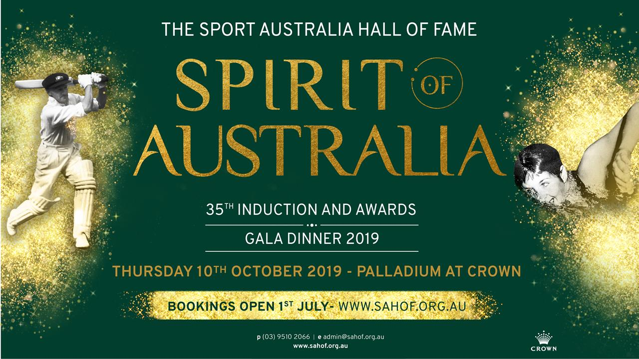 2019 Induction & Awards Gala Dinner
