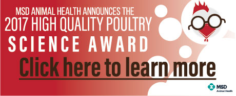MSD Animal Health - High Quality Poultry Science Award