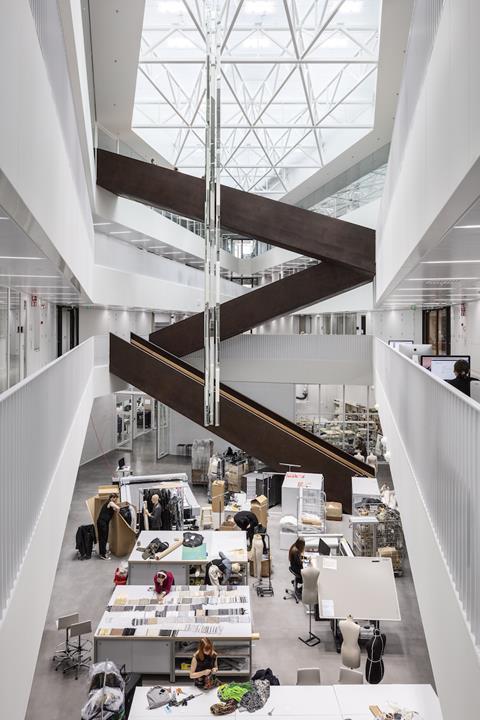 Aalto-yliopiston uusi kampusrakennus. Kuva: Andreas Meichsner Arkkitehtuurin Finlandia 2020