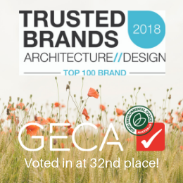 GECA - Voted as Top 100 Brand 2018!