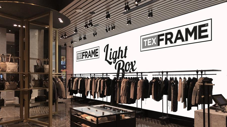 Retail Fit Outs - Light Box integrated to the wall
