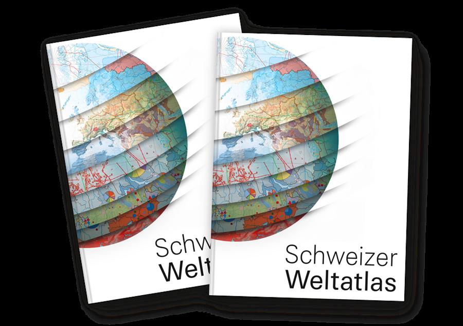 Buero Haeberli Entwurf Schweizer Weltatlas 2015