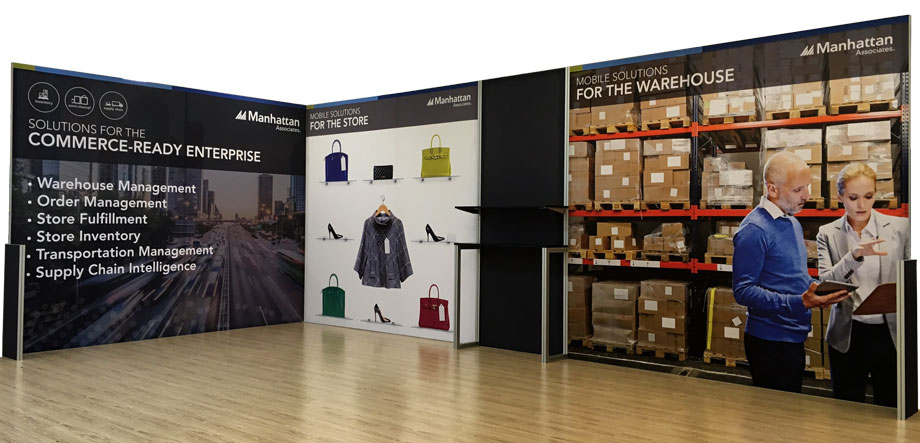 TexFrame Fabric Graphic Exhibition Display Stand