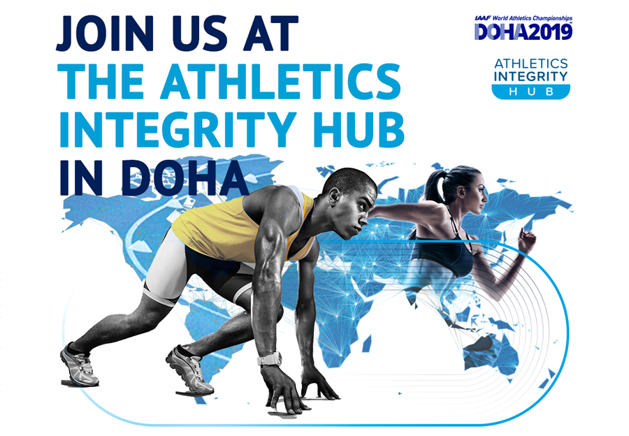Join us at the Athletics Integrity Hub in Doha