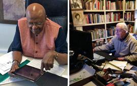 Desmond Tutu and Jimmy Carter