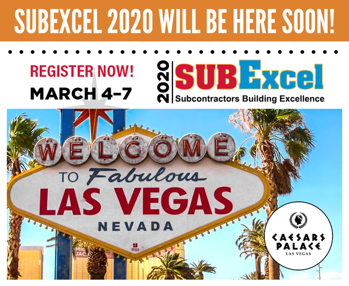 SubExcel 2020 is Coming Up Fast!