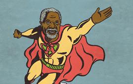 Kofi Annan cartoon