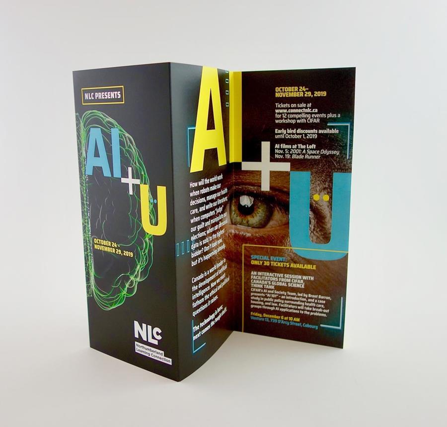 Photo of NLC brochure.