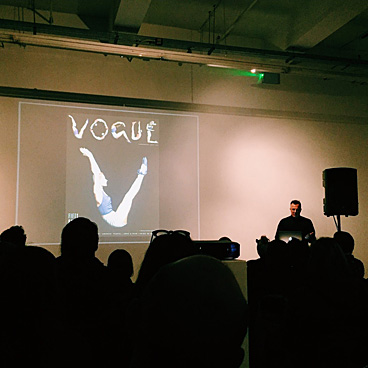 Letterform Live: Fashion including Tomi Vollauschek
