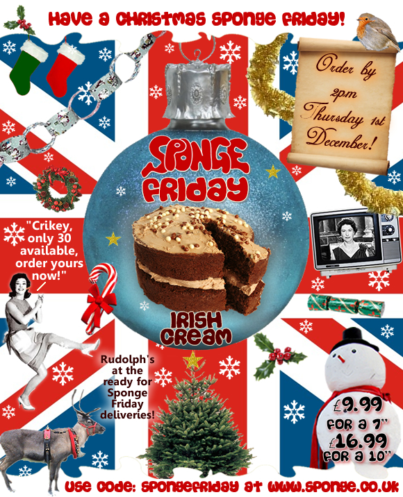 Have a Christmas SPONGE Friday!