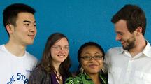 Youngers Marvin Nala, Sara Svensson, Esther Agbarakwe and Pedro Telles