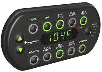 SpaCommand Spa-Side Remote Control