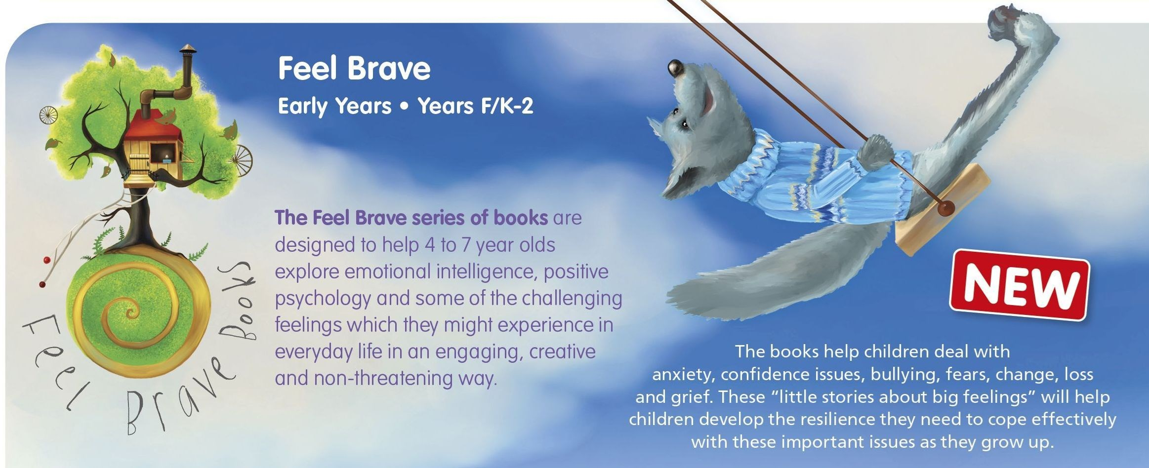 FEELBRAVEHEADER1 Lioncrest Education - Zoom sessions with FEEL BRAVE Author and creator, Avril McDonald